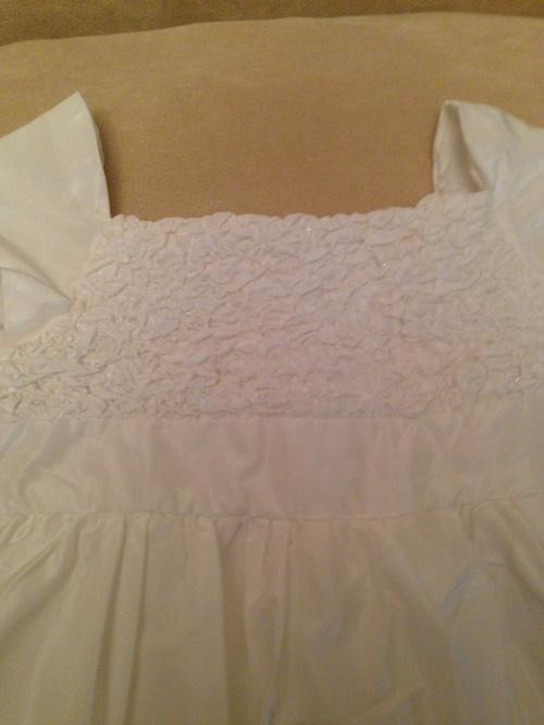 Белое пышное платье Де Салитто, р. 130