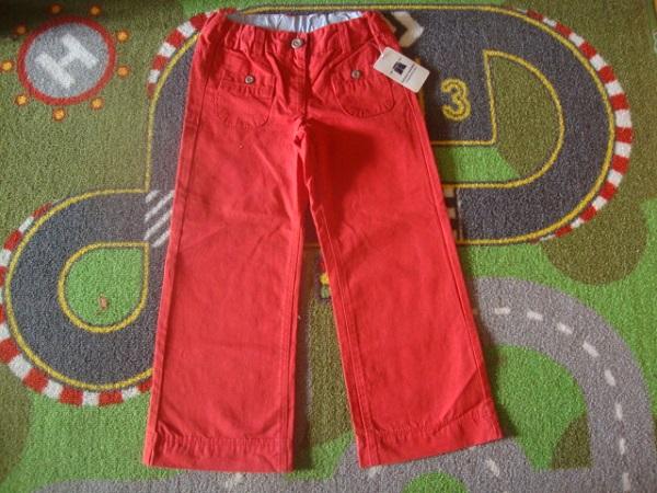 Новые хлопковые штаны д/д.Размер 104-110.