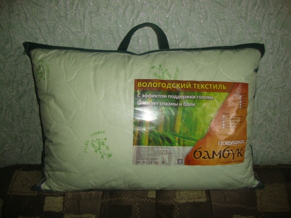 """Новая бамбуковая подушка 50*70 """"Вологод. текстиль"""""""