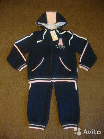 Новый спортивный костюм д/д Crockid.Размер 122