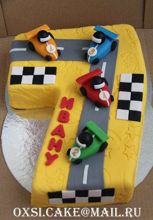 Торт для мальчика 7 лет фото