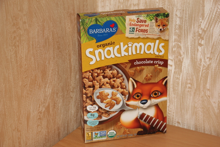 Barbara's Bakery, Puffins Cereal, арахисовое масло