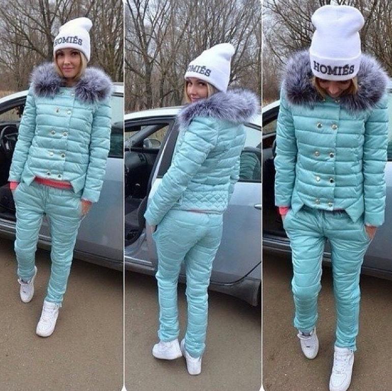зимние женские костюмы фото