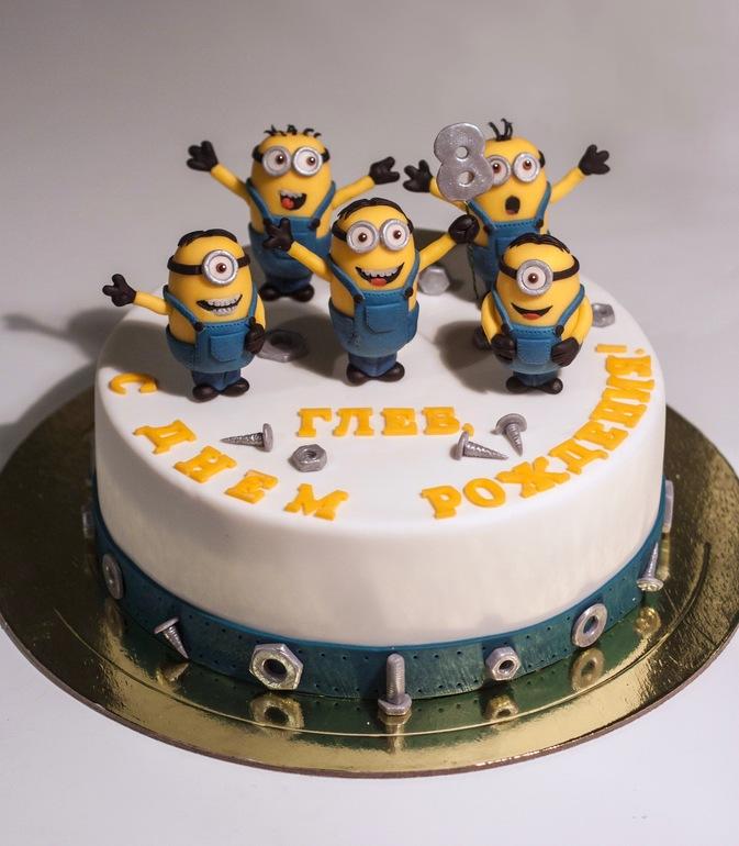 фото тортика миньоны способ