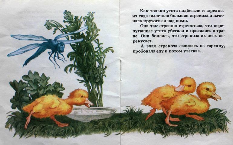 мастер-класс картинки стрекоза и утята оформлении используется