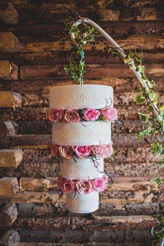 торт люстра фото