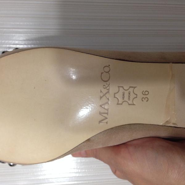 4573d3b337e2 Новые Итальянские замшевые туфли молодежной линейки Max Mara (max   co) 36  размера , 6000 руб. + Услуги Почты России