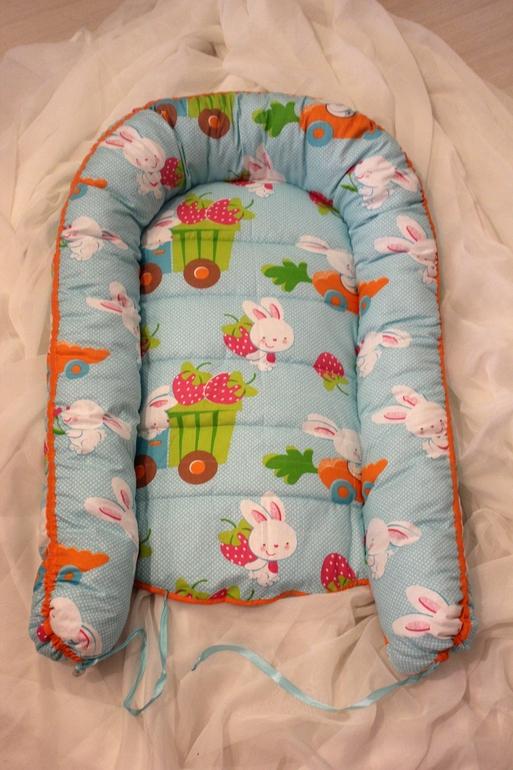 Шьем гнездышко для новорожденных своими руками 253