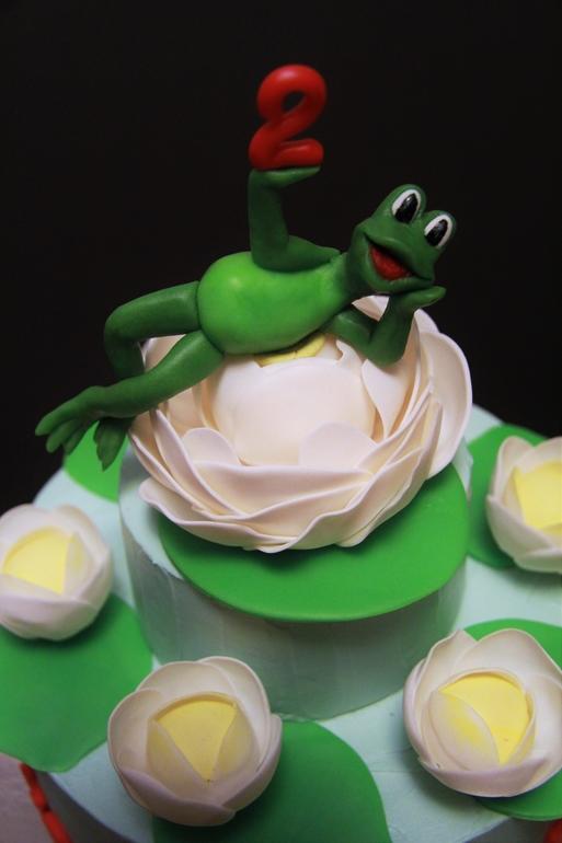 418Вишня шоколад мусс торт