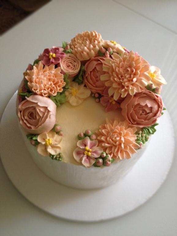 Кремовый торт простой рецепт