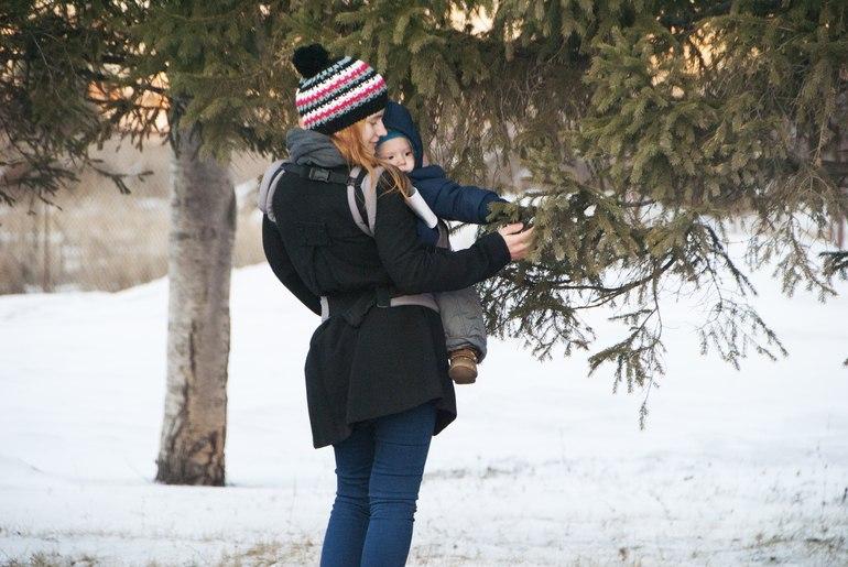 Эрго-рюкзак зимой плюшевые рюкзаки для малышей