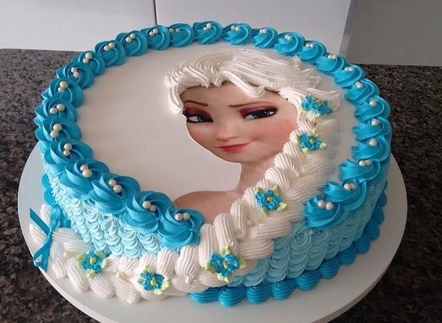 кремовые торты для девочек фото