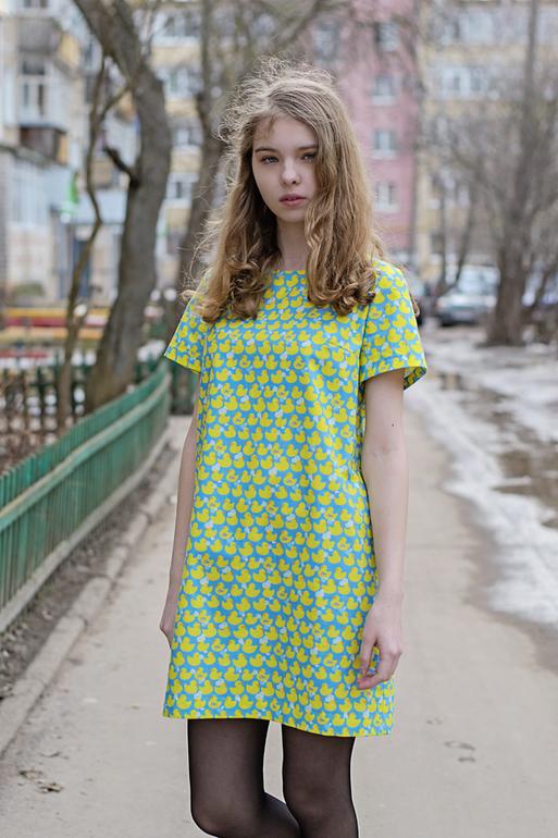 Выкройка корейские платья
