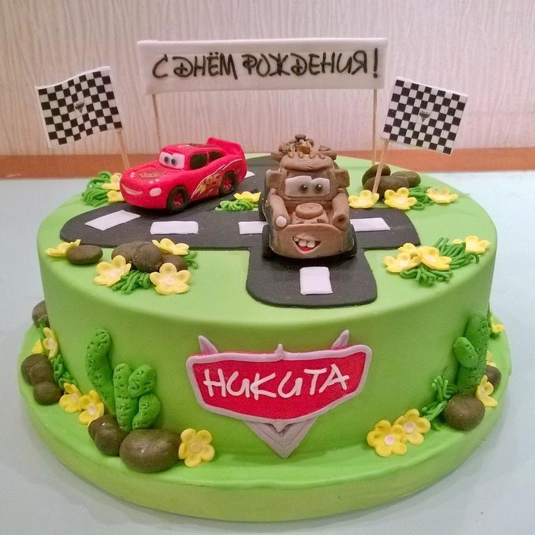 рецепт торта тачки с