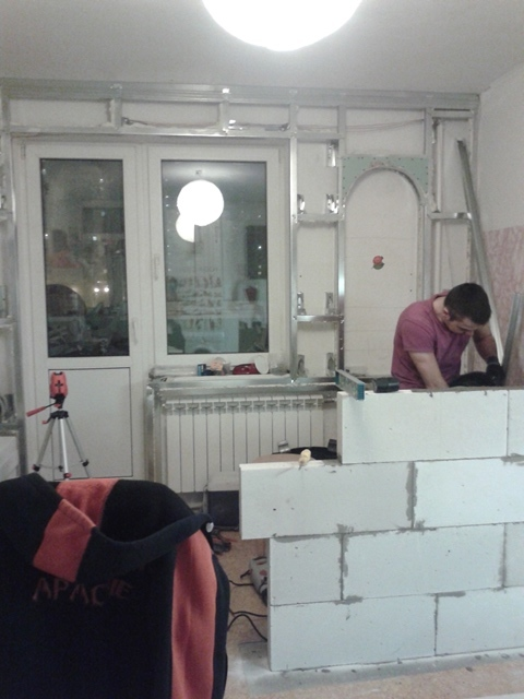 Присоединение балкона к кухне! - запись пользователя татьяна.