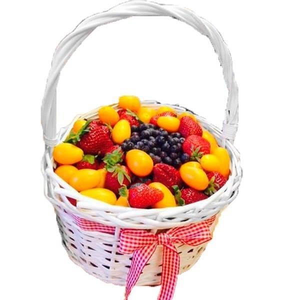 Картинка фруктовая корзинка в пакете