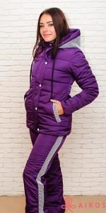Женский зимний костюм Airos, куртка и полукомбинезон