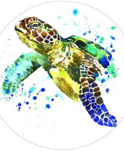 Черепаха - вышивка крестиком