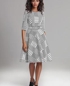 Платье в стиле нью-лук