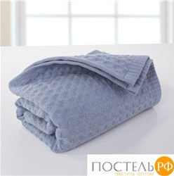Полотенце пике,Dome,Harmomika,40*70,серо-голубой,230 гр,dme-