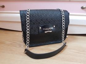 Новая сумка из натуральной кожи Италия черная