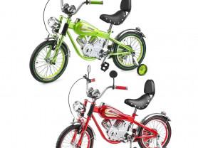 Винтажный детский велосипед-мотоцикл