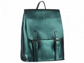 Новый кожаный рюкзак Ula бирюза