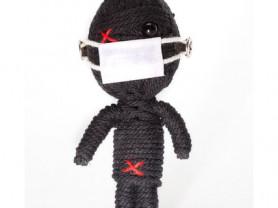 Доджер - кукла, талисман, ручная работа