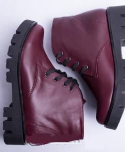 Ботинки из натуральной кожи №35-1