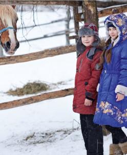 Пальто Снегурочка
