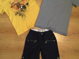 Футболки DKNY и Ralph Lauren, бриджи Sarabanda