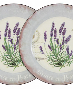 Набор из 2-х обеденных тарелок Лаванда