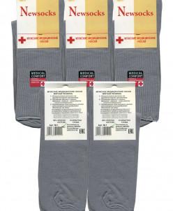Мужские носки Newsocks медицинские М-1 серые
