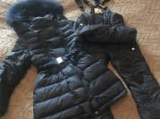 Пальто и полукомбинезон Borelli 7 лет
