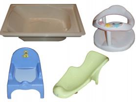 Ванночка, горка, сиденье для купания, горшок