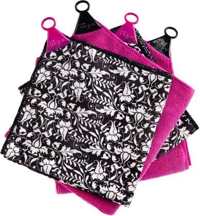полотенце в комплекте 4шт   Rococco pink