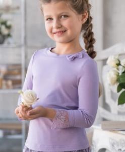 Трикотажная блузка В*ивьен