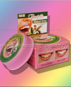 Тайская натуральная зубная паста с гвоздикой ISME