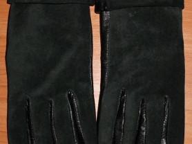 Женские перчатки натуральная кожа замша Grace 6.5