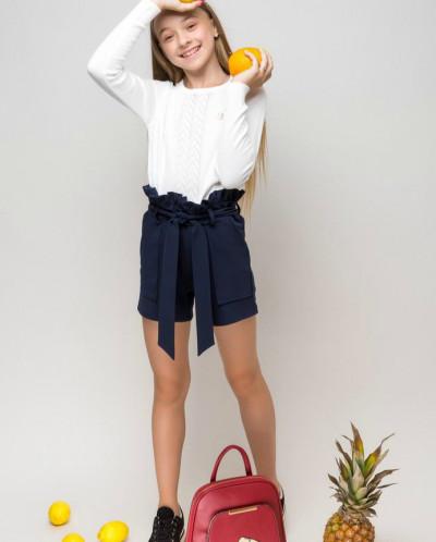 """Школьные шорты для девочки """"SH-72"""""""