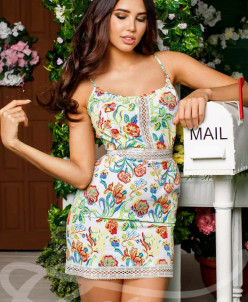 Кокетливое мини-платье  Gepur