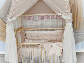 Кроватка-шатер 0+
