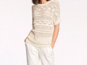 Стильный пуловер Rick Cardona