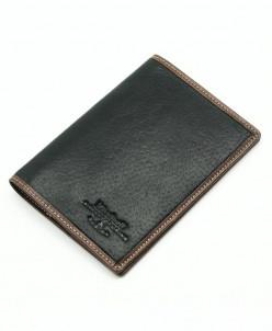 Мужская кожаная обложка для паспорта Dierhoff Д 8111-005/11