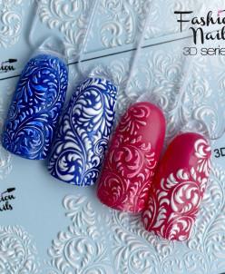 Fashion Nails, Слайдер-дизайн 3D/45