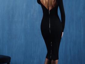 платье новое с открытой спиной
