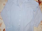Рубашка школьная р. 116 бу