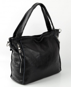 Женская кожаная сумка 1807 Блек