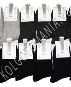 Мужские шерстяные носки с махрой (однотонные) MilanKo