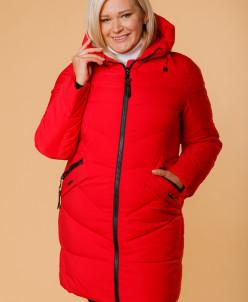 Женская куртка 1851-28 красная